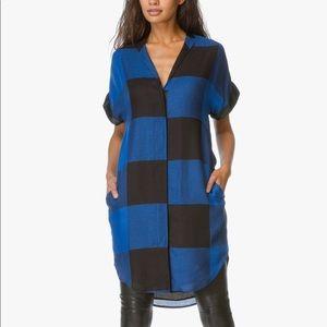 Rag & Bone Cooper Plaid Checkered Shirtdress